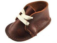 Infant Desert Booties by Bear Feet Shoes.