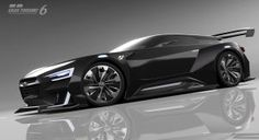 Subaru and Gran Turismo have officially unveiled the Viziv GT Vision Gran Turismo. Subaru, Sexy Cars, Hot Cars, Supercars, Muscle Cars, Flying Vehicles, Pretty Cars, Futuristic Cars, Japanese Cars