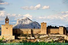 Alcazaba de Antequera.  Peña de los enamorados.