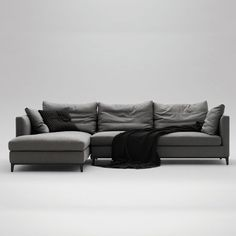 Crescent sofa from Camerich | Corner sofas - 10 of the best | Living room | PHOTO GALLERY | Homes & Gardens | Housetohome.co.uk