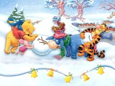 winnie christmas quotes | Winnie the Pooh Christmas - Christmas Wallpaper (2735506) - Fanpop ...