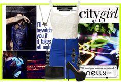 """Nelly.com"" by anne-symanski-goranson ❤ liked on Polyvore"