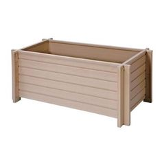 New Age Pet EcoConcepts 18 in. x 42 in. Rectangular Planter-EPLT103-R42 - The Home Depot