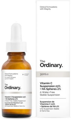 The Ordinary Vitamin C Suspension 23%  + Hyaluronic Acid Spheres 2% $5.80 - from Well.ca