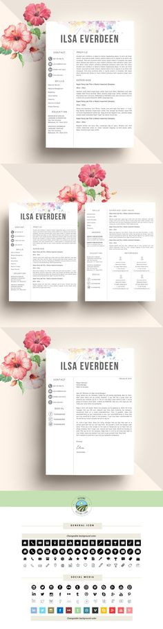 Resume Template  - website resume template