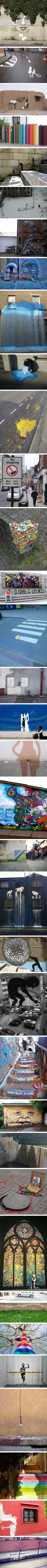 hermoso arte callejero