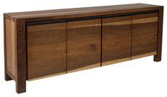 Lima Buffet, Smoked Oak - contemporary - buffets and sideboards - Inmod