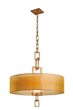 Buy the Troy Lighting Bronze Leaf Direct. Shop for the Troy Lighting Bronze Leaf Link 4 Light CFL Drum Chandelier with Organza Shade and save. Hanging Light Fixtures, Hanging Lights, Troy Lighting, Lighting Design, Vintage Pendant Lighting, Bronze, Gold Light, Drum Chandelier, Drum Shade