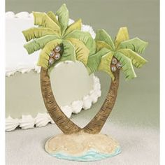 #palm tree #wedding cake topper -- perfect for the #beach!