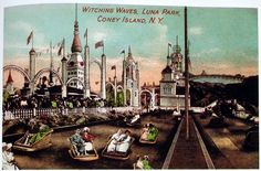 Witching Waves ride at Luna Park