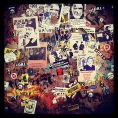 Re-Creating some walls for #CBGB film set design.
