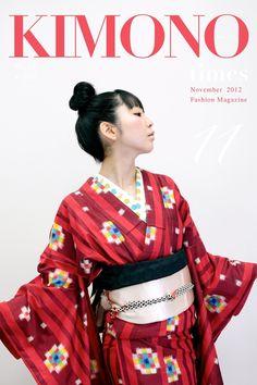 山形きもの時間 November 2012[ No.20 ] / Yamagata Kimono Times, November 2012 no20