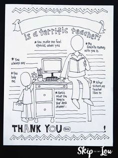 Hundreds of teacher appreciation ideas to make the best teacher gifts every. Loads of DIY ideas to say thank you and make your teachers feel appreciated. you teacher gift of the BEST Most Creative Teacher Appreciation Ideas Best Teacher Ever, Best Teacher Gifts, Teacher Thank You, Thank You Gifts, Your Teacher, Homemade Teacher Gifts, Teacher Signs, Teacher Cards, Teacher Retirement