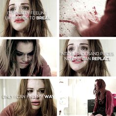 Dont cry Lydia ♡ shared by _Blondie** on We Heart It Teen Wolf Quotes, Lydia Martin, Dont Cry, Find Image, We Heart It, Crying, Halloween Face Makeup, Fandoms, Storyboard