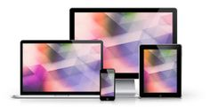 Geometric wallpapers for desktops and devices