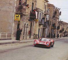 Targa Florio 1965 winners .Bandini and Vaccarella.