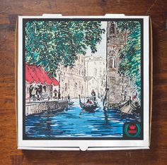 Searching The World For The Perfect Pizza Box Design Perfect Pizza, Good Pizza, Pizza Kunst, Pizza Box Design, Open The Floodgates, Vegetarian Pizza, Pizza Boxes, Pizza Delivery, Pizza Restaurant