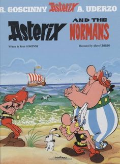 Asterix and the Normans (Book 9) by Rene Goscinny, http://www.amazon.com/dp/0752866222/ref=cm_sw_r_pi_dp_aZBGrb07D53ZY