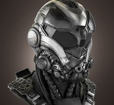 Airsoft hub is a social network that connects people with a passion for airsoft. Talk about the latest airsoft guns, tactical gear or simply share with others on this network Robot Concept Art, Armor Concept, Tactical Helmet, Futuristic Armour, Futuristic City, Helmet Armor, Airsoft Mask, 3d Modelle, Custom Helmets