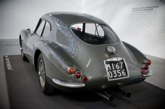 Fiat 1954 8V Vetroresina. Now that's a behind.