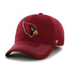 Arizona Cardinals NFL Game Time Close Hat (Red)