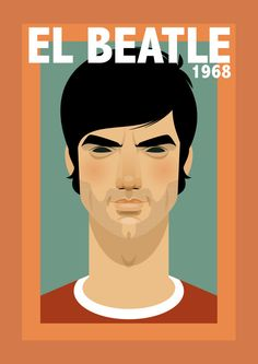 El Beatle 1968 - George Best by Stanley Chow