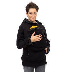 Tragejacke Fleece Mutter Baby Jacke Tragejacke stylisch