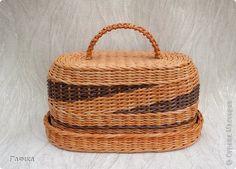 Поделка изделие 8 марта Плетение Цумами Канзаши Хлебницы Бусинки Ленты Трубочки бумажные фото 2