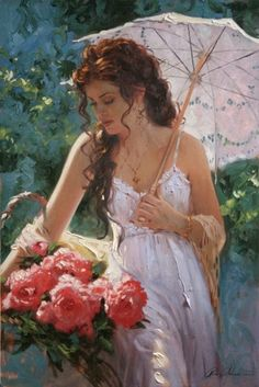 Beautiful Art by Richard Johnson. I think some paintings has personal feeling.They put their feeling in their paintings to make paintings had also an independent artistic value of their own. Renaissance Kunst, Renaissance Paintings, Princess Aesthetic, Painted Ladies, Classical Art, Fine Art, Woman Painting, Lace Painting, Pretty Art