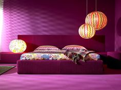 I love the lighting and interplay of colors.  design-dautore.com: MISSONI HOME
