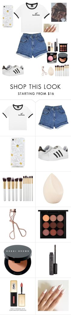 """""""Rushing Down like Waterfalls"""" by look-in-the-clouds ❤ liked on Polyvore featuring adidas, My Makeup Brush Set, Christian Dior, Charlotte Tilbury, MAC Cosmetics, Bobbi Brown Cosmetics and Bare Escentuals"""