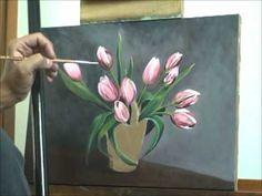 Pintura de Tulipas - Passo 8