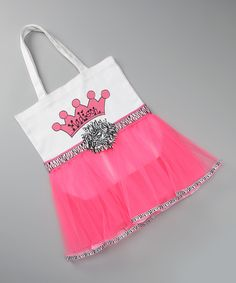 Probably can make this...canvas bag, tutu, fabric paint!  Great gift idea for Gretchen's friends..