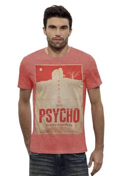 "Футболка Stanley Leads ""Psycho red"" от KinoArt"