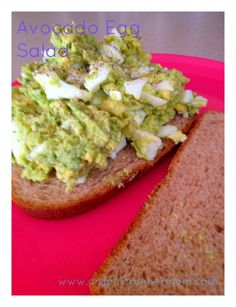 This was AMAZING! i will make this once a week. YUM! Avocado Egg Salad #recipe @Organic Runner Mom