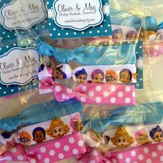 10 x 3 BUBBLE GUPPIES Birthday Party Favor Packs by OliverandMay, $19.99