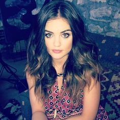 lucy hale - how to get her smokey eye makeup