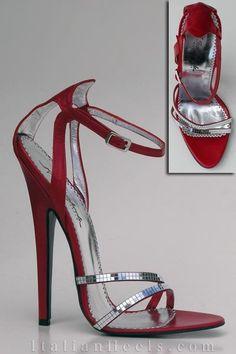 stunning BUT that heel has got to go a sandal would look great ) High Heel Boots, High Heel Pumps, Pumps Heels, Stiletto Heels, Shoe Boots, Ankle Strap Heels, Strappy Heels, Sexy Heels, Extreme High Heels