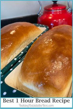 Try The Best 1 hour Bread Recipe. One proofing! Novice bakers will be happy with a great bake. Experienced bakers will find it easy. This is my family's favorite bread recipe. 1 Hour Bread Recipe, Bread Dough Recipe, Bread Maker Recipes, Best Bread Recipe, Easy Bread Recipes, Healthy Dessert Recipes, Baking Recipes, Muffin Recipes, Desserts