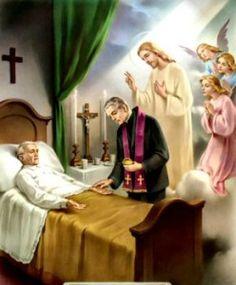 The seven sacraments Unción de enfermos Anointing of the Sick