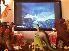 Happy Dinovember: Cool Parents Convince Kids Their Toys Come To Life At Night