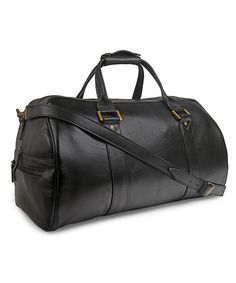 Hidesign Baxter Large Leather Duffel