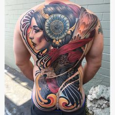 Justin Hartman started doing tattoos in 2007. The artist works in Neotraditional style. An interesting fact is that Justin was originally…