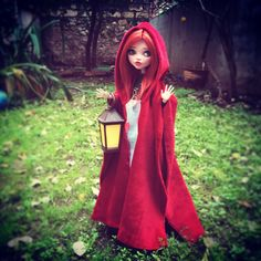 """318 Likes, 9 Comments - Angela D. (@memoles_dollroom) on Instagram: """"Red Riding Hood is officially finished and ready to go home! I hope her new owner will like her and…"""""""