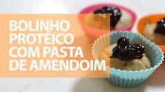 Bolinho Proteico com Pasta de Amendoim - Comer, Treinar e Amar