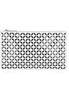 Alaia Laser Cut Leather Pouch-- so chic...