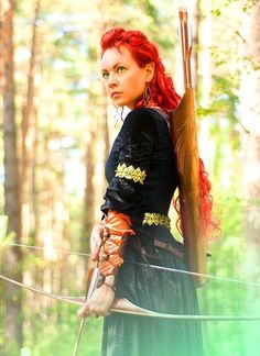 Warrior. Archer. Fantasy Photography