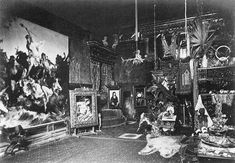 File:Atelier of Hans Makart, ca. Wikimedia Commons, Concert, Pictures, Painting, Vienna, Atelier, Artists, Photos, Recital
