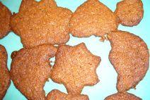 zandkoekjes zonder geraffineerde witte suiker. En met volkoren tarwemeel
