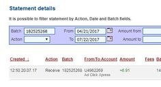 I am getting paid daily at ACX and here is some proofs of my latest withdrawal. This is not a scam and I love making money online with Ad Click Xpress.  Earn 150% on Tripler Packs in 88 days and earn additional 150% in Tripler Panels over time. Spend as much as you want. My #49 Withdrawal Proof of online income from AdClickXpress. Join for FREE and get 10$ Tripler pack from ACX
